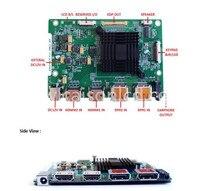 RTD2795UT V1 4 K LCD denetleyici kurulu desteği Küçük boyutlu 4 k LCD panel 3840*2160  60 hz