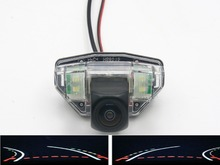 купить 1080P Car Rear view Camera Fisheye Trajectory Tracks Parking Reverse Camera for Honda CRV 2007 -2010 New  (hatchback) 2008-2011 по цене 1456.98 рублей