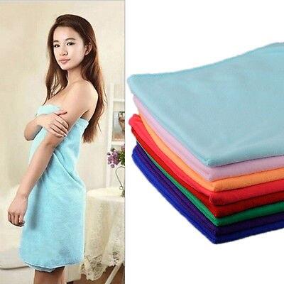 Textiles Para El hogar Toalla 70x140 cm Absorbente de Microfibra de Secado Baño