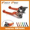 CNC Pivot Foldable Clutch Brake Lever For KTM SX125 SX144 SX150 SX250 SX450 SXF350 SXF250 SXF450