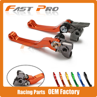 CNC Pivot Foldable Clutch Brake Lever For KTM SX125 SX144 SX150 SX250 SX450 SXF350 SXF250 SXF450