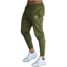 Summer new mens trousers solid color sports pants training gym quality running jogging fitness men
