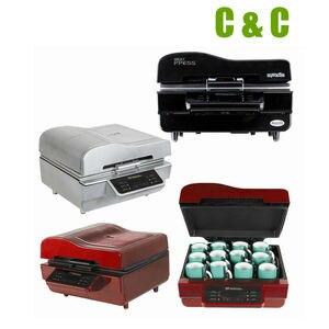 Image 4 - 3D Heat press machine vacuum transfer printing sublimation mugs NO.AHP01 mug printing phone cover printing