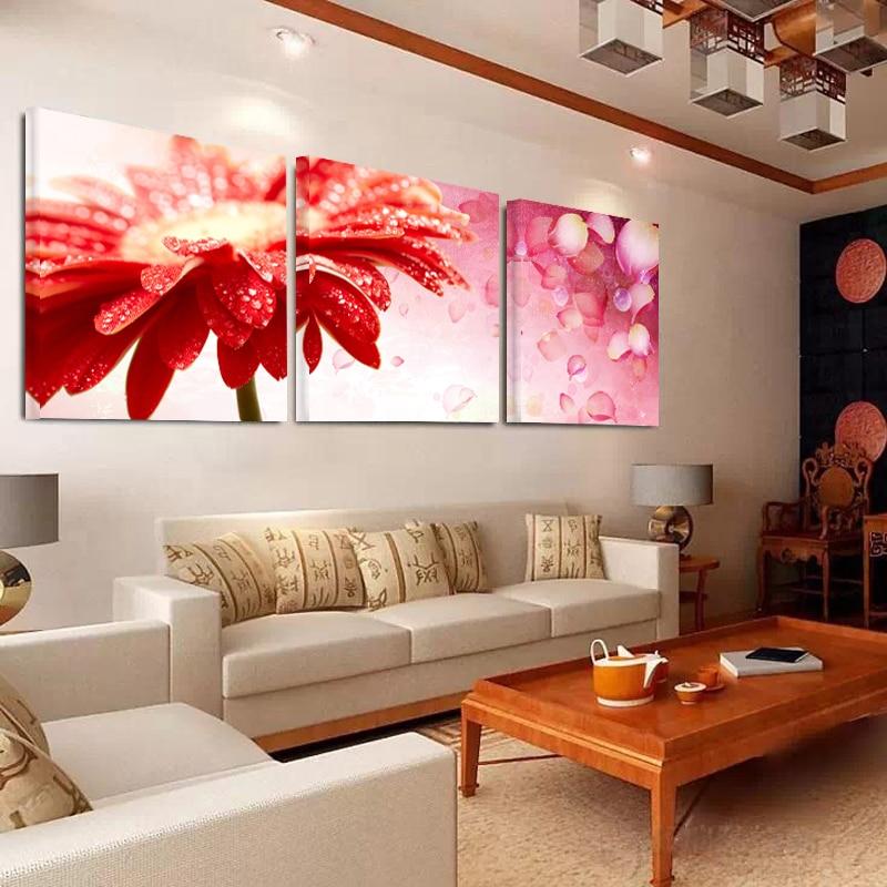 ୧ʕ ʔ୨Cuadro rojo hoja Cisne póster lienzo decoración Decoración ...