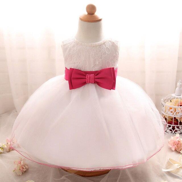 Boda del vestido de la princesa vestido para bebés recién nacidos 1 ...
