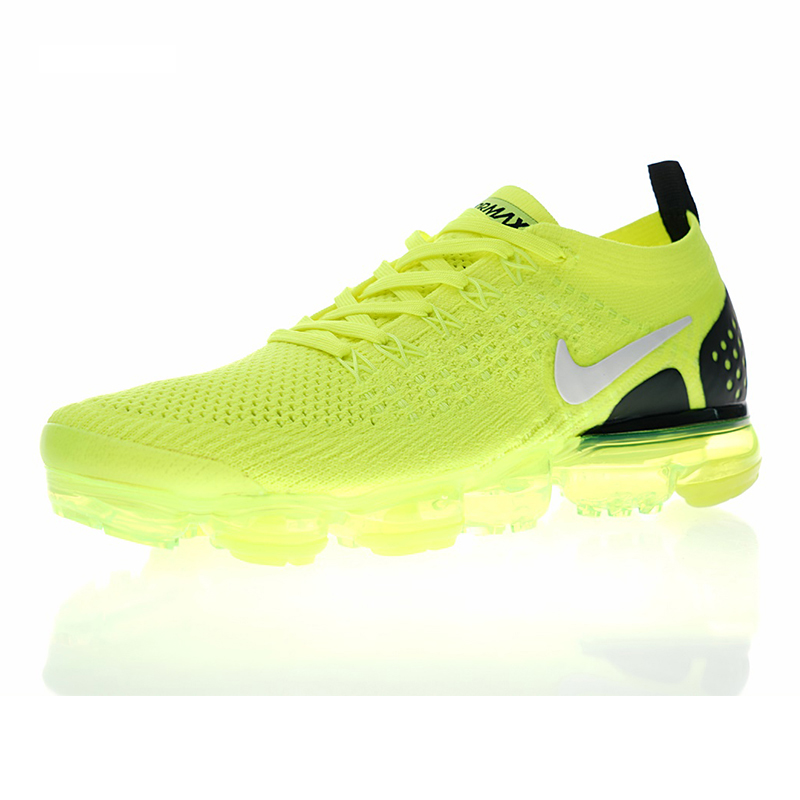 38788eb76a5a7 ... coupon for nike air vapormax flyknit 2.0 w mens and womens running shoes  yellow shock absorbing
