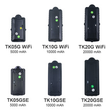4G 3G GPS Tracker רכב TK20G מגנט עמיד למים נייד 20000mAh סוללה WiFi תנועה זרוק מעורר משלוח אינטרנט APP GSM קול צג