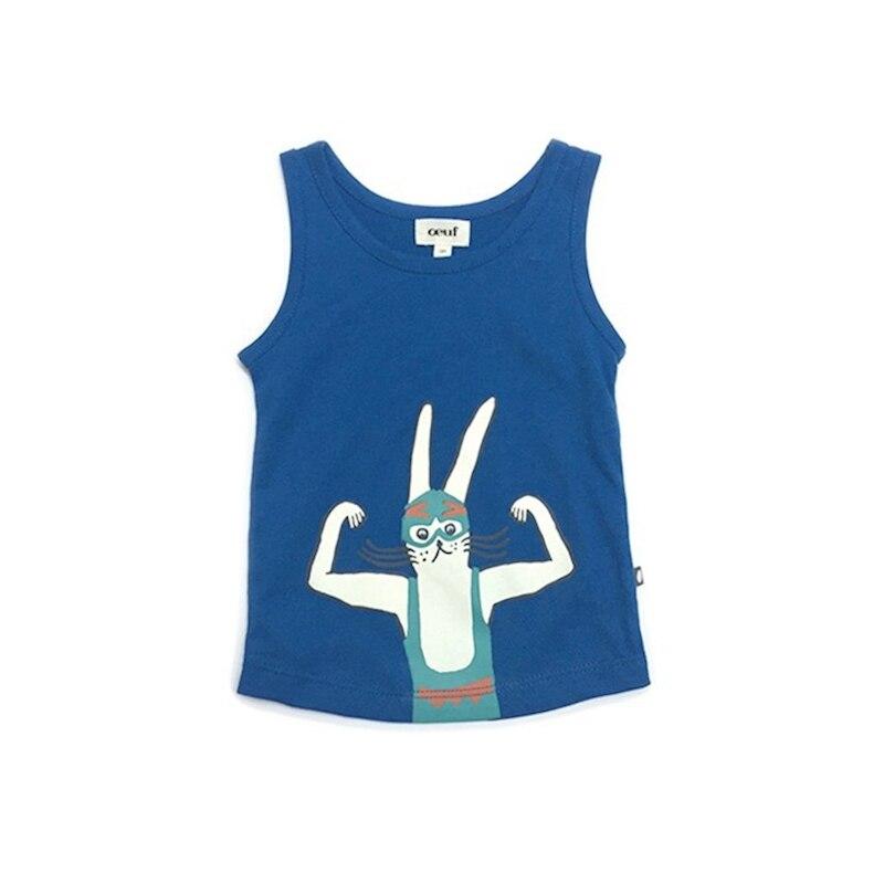 1 9 years Children vest Baby summer boy tops oeuf girl