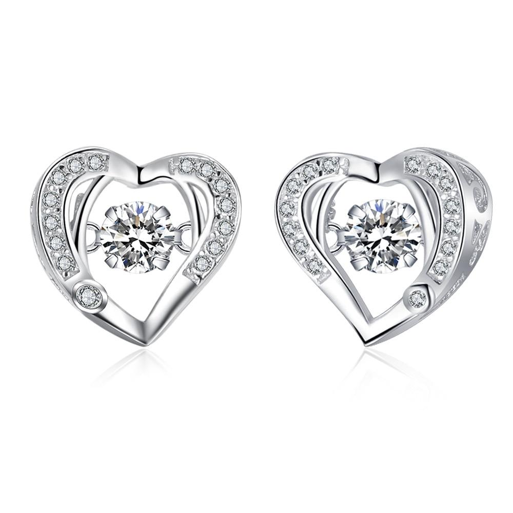 TOP14 women fine jewelry,super shiny love heart earring,925 sterling silver earring for lover авто и мото аксессуары volkswagen oem j519 bcm odule vw jetta mk5 skoda octavia golf mk6 1k 0 937 086r 1 k 0 937 086 r