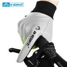 INBIKE Cycling font b Gloves b font Men Full Finger Reflective Bike font b Gloves b