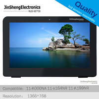 for 11.6 HP Pavilion x360 11 K000NA 11 k164NR 11 K199NR LCD Display+Touch Screen glass with Bezel Assembly 809548 001