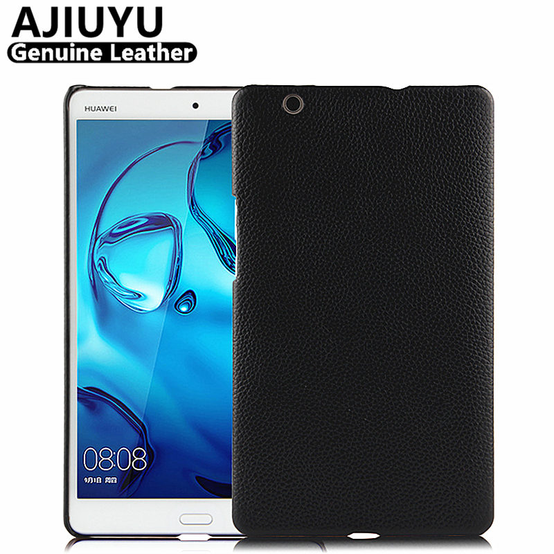 Genuine Leather For Huawei MediaPad M3 lite 8.0 Case Cover M3 lite 8 Case Cowhide Protective Protector CPN-L09 W09 AL00 Tablet