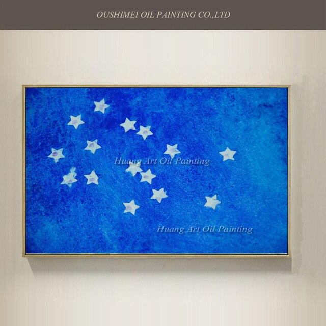 Aliexpress.com : Buy Pop Art Hand Painted Starry Night Constellation ...