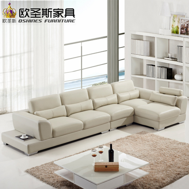 Nova Leather Sofa For Restaurant Can Make By U Shaped