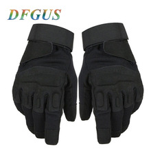 Touch Screen Full Finger Gloves Tactical Protective Gear Motorbike Racing Rubber Hard Knuckle Outdoor Hiking Gloves for Men стоимость