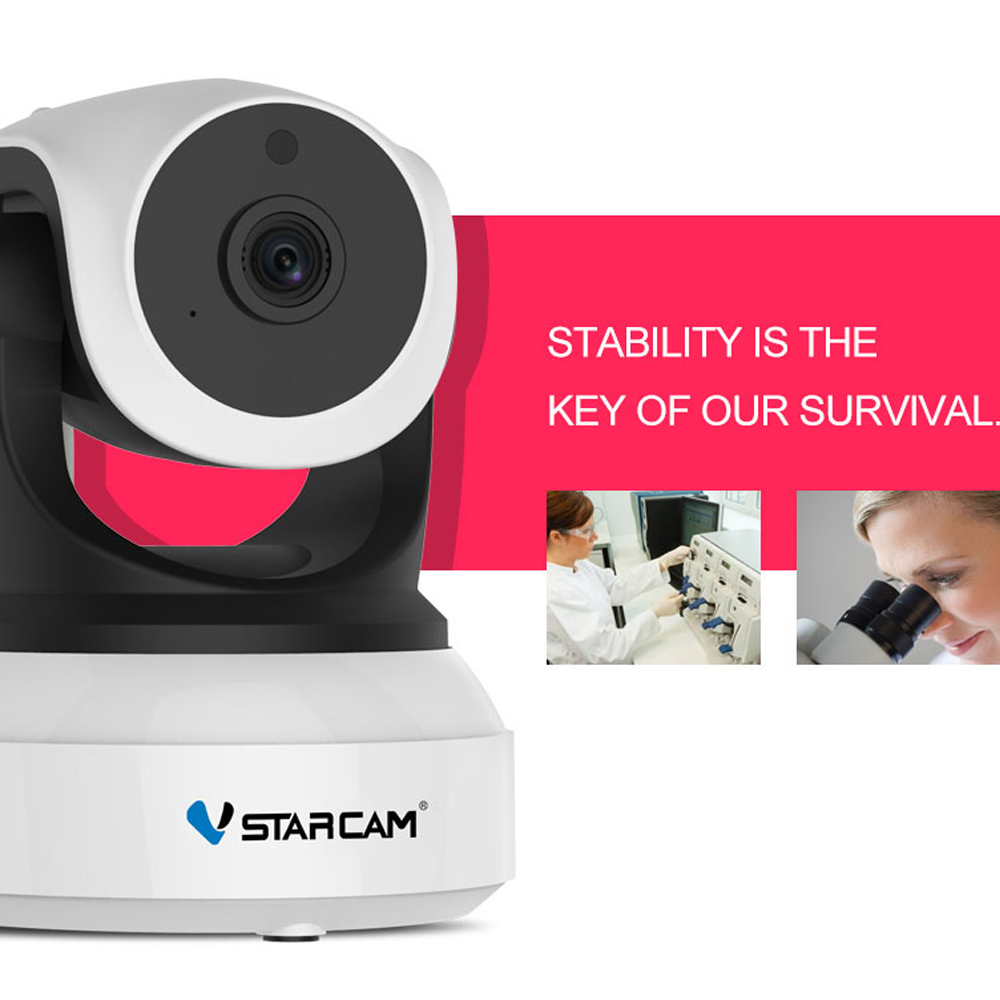 Vstarcam Baby Monitor Network-Camera Night-Vision Surveillance-Security 720P Home Wireless