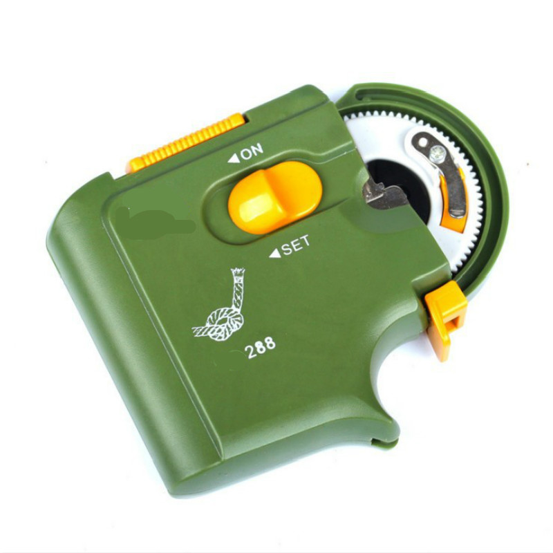 Automatic Electric Fishing Hook Line Winder Tier Auto Hook Tie Knot Tool US