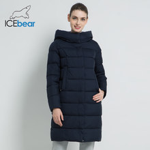 ICEbear 2019 New Winter Women's Coat Thick Warm Female Cotton Coat Female Hooded Jacket High Quality Women's Jacket GWD18259I(China)
