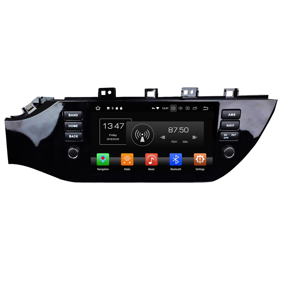 ELANMEY premium car gps navigation For KIA K2 RIO 2017-2018 octa core android 8.0 CAR DVD player multimedia radio 4G head unitELANMEY premium car gps navigation For KIA K2 RIO 2017-2018 octa core android 8.0 CAR DVD player multimedia radio 4G head unit