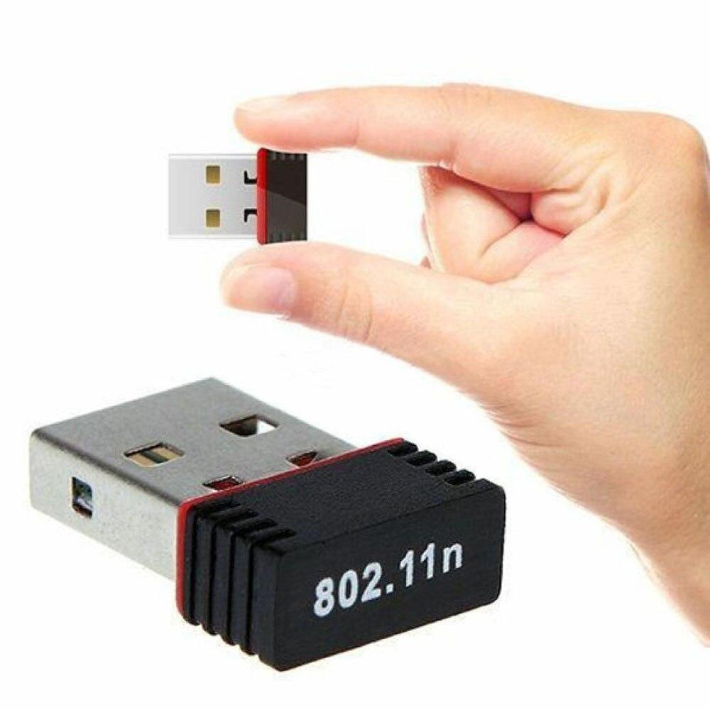 Mini karta sieciowa WiFi USB 150Mbps za 3,74zł - AliExpress