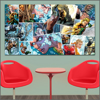 Custom Canvas Print Oil Painting Heroe Comics Of The Seven Seas Art Canvas Print Pictures For