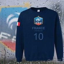 Frankreich nation team hoodies männer sweatshirt trainingsanzug 2017 streetwear socceres jersey fußballer trainingsanzug Französisch flagge fleece FR