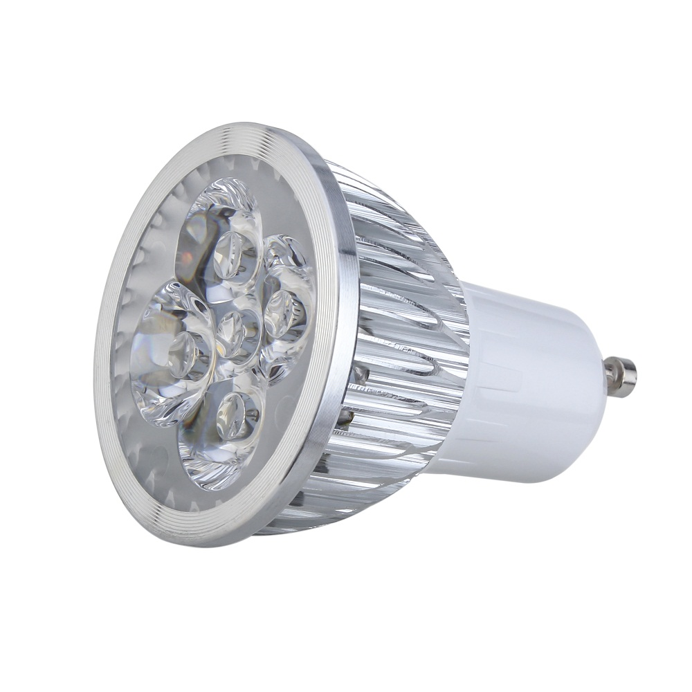 10pcs led light High Power lamp 5W GU10 Led Spotlight Bulb Warm/Cold White Lamp 220V 110V
