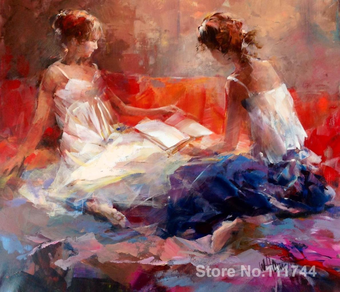b82f147bd الفن الجميل لل نوم فتاتين ويليم haenraets لوحات مرسومة باليد عالية الجودة