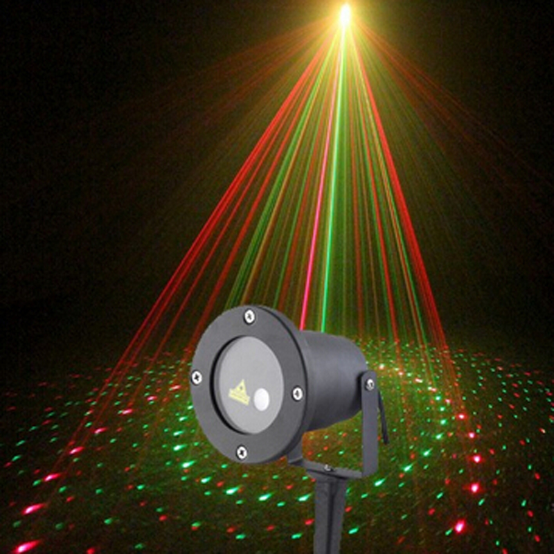 big promotion christmas lights outdoor garden outdoor christmas laser projector aser 8in1 - Laser Projector Christmas Lights