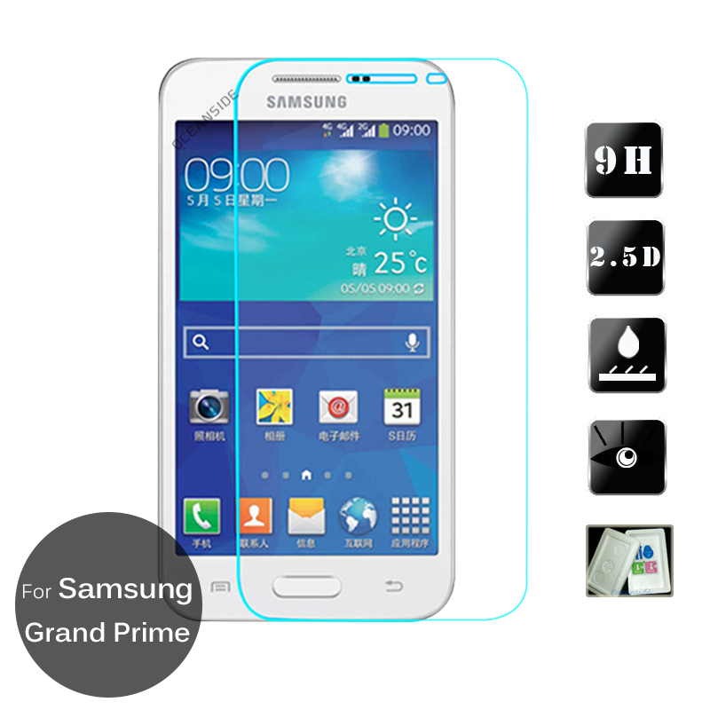 cdba64245da For Samsung GALAXY Grand Prime Tempered glass Screen Protector 9h Safety  Protective Cover on G530H G531H G531F SM-G530H SM-G531H