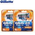 Оригинал Gillette Fusion Proglide Flexball Мощность Электрическая Бритва Для Бритья Лезвия Для Мужчин Борода Бритья Лезвия 8 Pcs