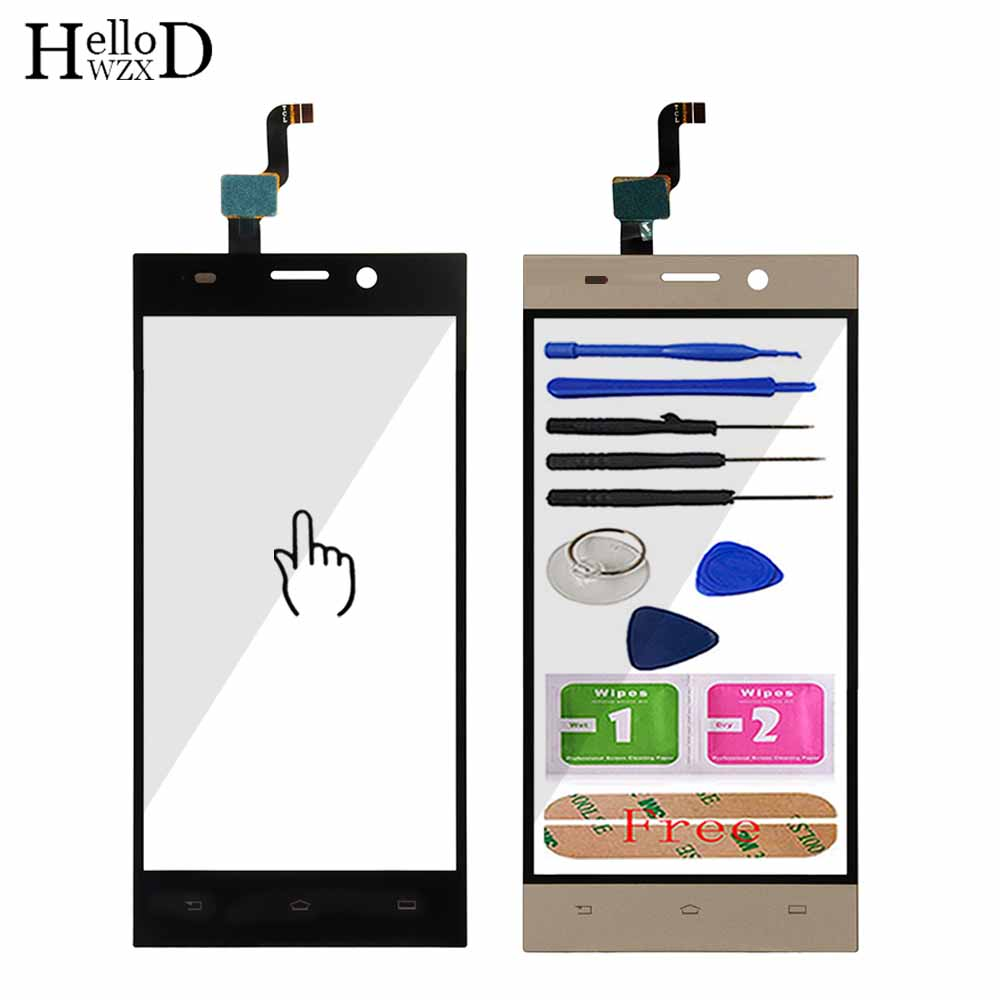5'' Mobile Phone Touch Screen TouchScreen For Philips Xenium V787 Touch Glass Front Glass Digitizer Panel Lens Sensor 3M Glue