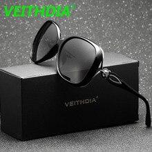 VEITHDIA Retro TR90 Driving Sun Glasses Luxury Ladies Designer Eyewear oculos de sol Feminino 7022 Polarized Sunglasses Women