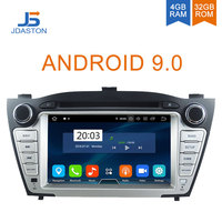 JDASTON Android 9.0 Car DVD Player For Hyundai iX35 Tucson 2009 2015 WIFI Multimedia GPS Stereo 2 Din Car Radio tape recorder