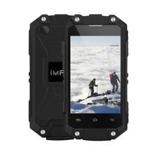 Иман X2 тройной проверки телефон Android 5.1 ОЗУ 1 ГБ ROM 8 ГБ MTK6580 Quad Core 1.3 ГГц Dual SIM 2.45 дюймов сотовые телефоны водонепроницаемый OTG