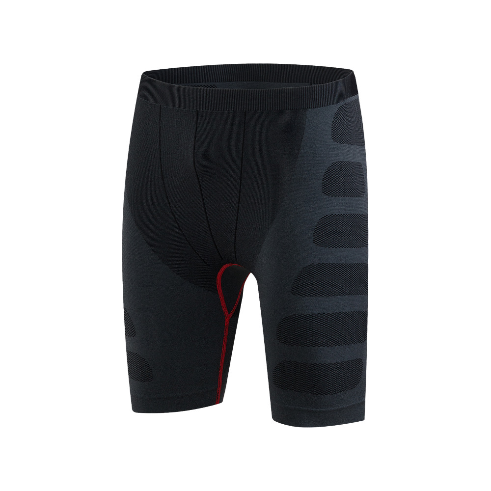 Men's tight training PRO sports fitness running shorts Elastic fast-dry compression sports clothing short