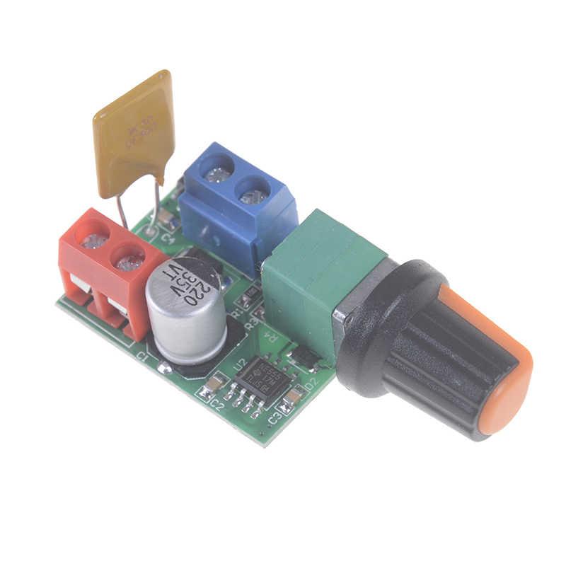 Высокая линейность переключатель диапазонов DC регулитор скорости двигателя бесступенчатый ШИМ Скорость регулятор светодиодный затемнения 3 V-35 V Ультра