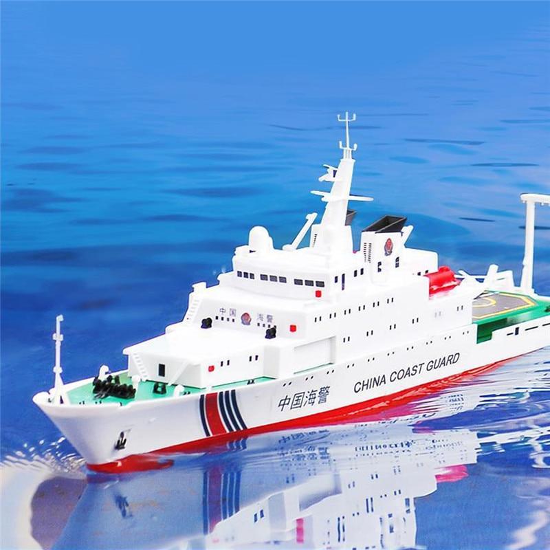 1/250 39 cm 2.4G chine mer patrouille 3383 RC bateau 25 km/h Double moteur enfants en plein air jouet modèle télécommande jouets bateaux