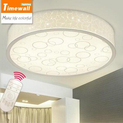 Led wohnzimmer decke beleuchtung modernen minimalistischen runde ...