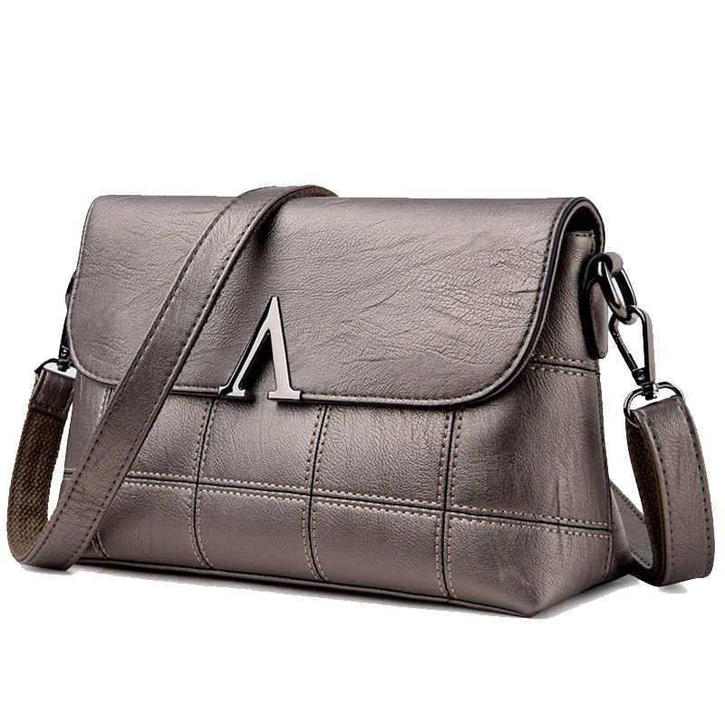 57e63c6bbc57 Женская стильная сумка на плечо из натуральной кожи женская сумка винтажная женская  сумка-мессенджер сумка