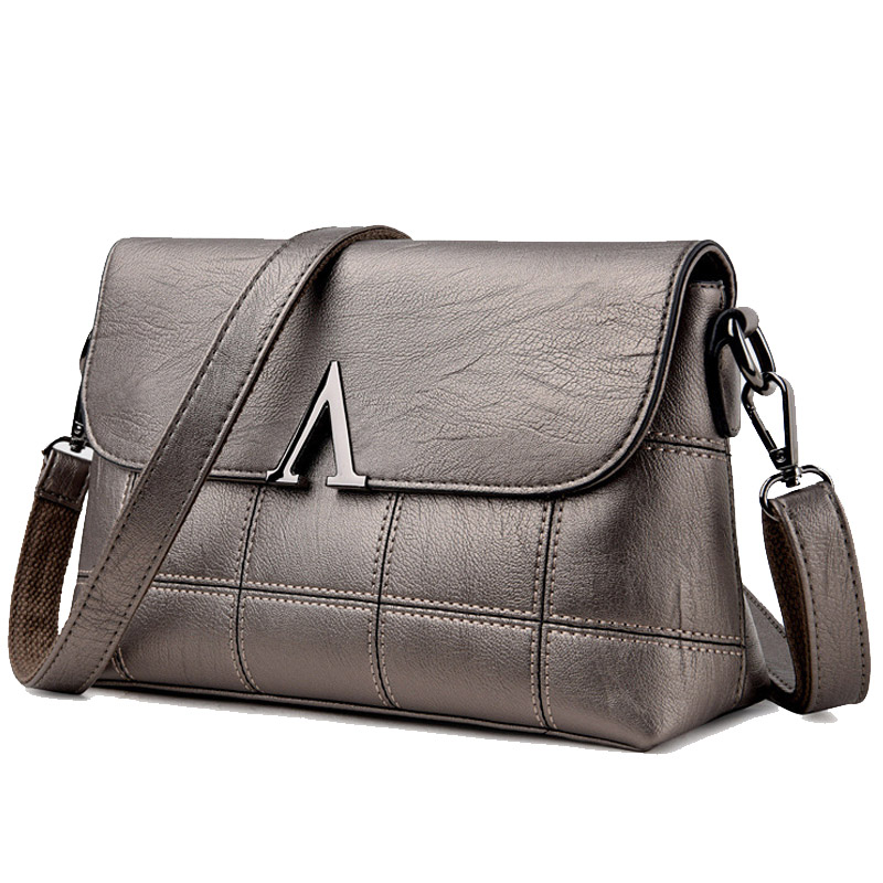 Lady Style Women Shoulder Bag Genuine Leather Women handbag Ladies Bag Vintage Women Messenger Bags Crossbody Bag Bolsa Feminina fashion leather women messenger bag cowhide shoulder bag women satchels crossbody bag bolsa feminina
