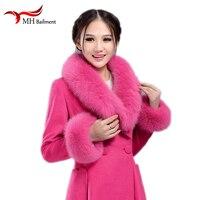 Real Fox Fur Collars Female Fox Fur Square Collar Ring Scarf Women Natural Genuine bandana scarf Fur Scarves Cuff Accessories