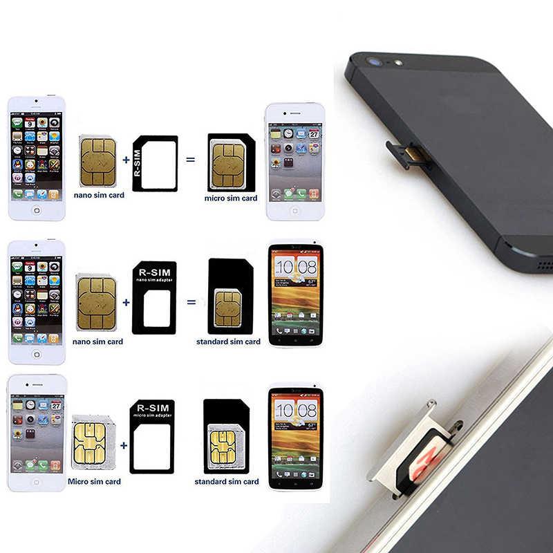 Micro karta nano sim złącze adaptera zestaw do iphone'a 6 7 plus 5S Huawei P8 lite P9 Xiaomi Redmi Note 4 Pro 3S 3 Mi5 sims uchwyt na