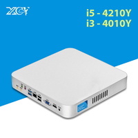 Mini PC Windows 10 Core i5 4200Y i3 4010Y DDR3L Thin Client Nettop HTPC HDMI WiFI USB TV Box Desktop Computer PC