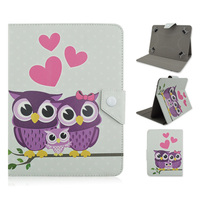 Owl pattern Leather Case Cover For Asus MeMO Pad 7 ME170C 7 inch tablet cases Universal Android Tablet Accessories Y4A92D