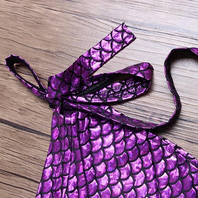 Women's Mermaid Scale Beach Wrap Skirt 5