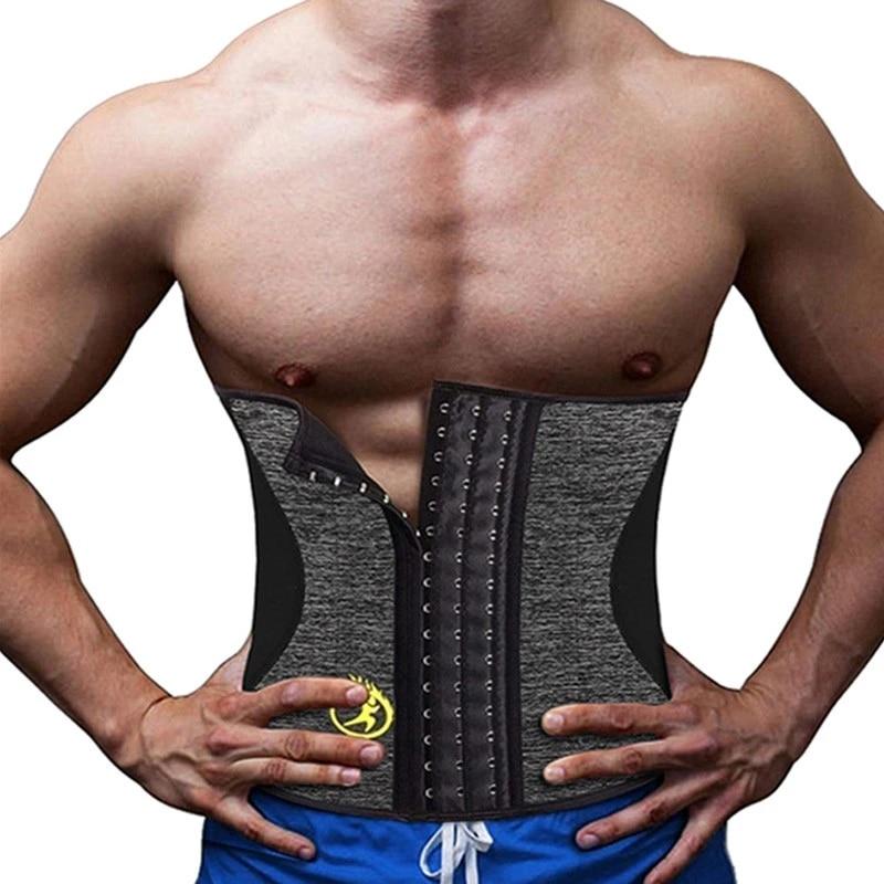 Men woman Slimming Corsets  WEIGHT LOSS BELT MALE CORSET UNDERWEAR BODY SHAPER