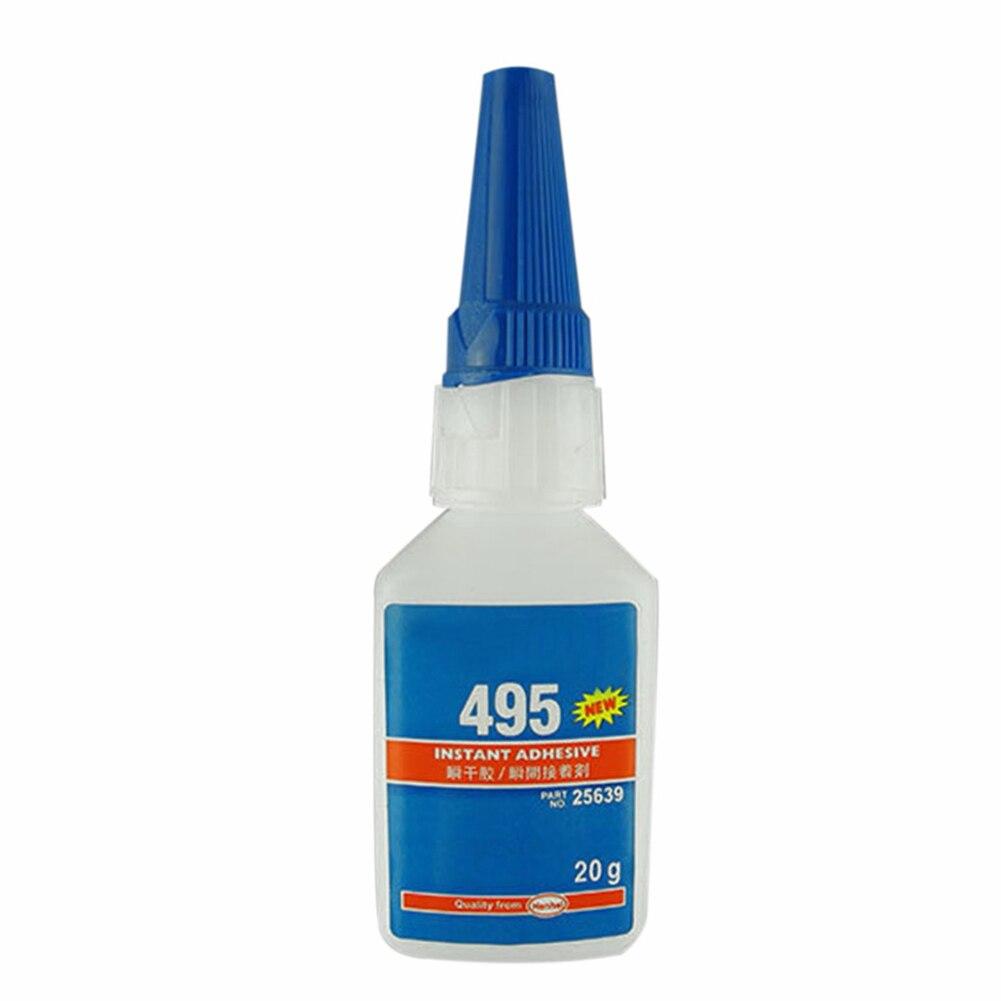 Мгновенный клей быстросохнущая бутылка сильный супер клей сильный для офиса/школы жидкий клей для пластика/дерева 406/480/403/495