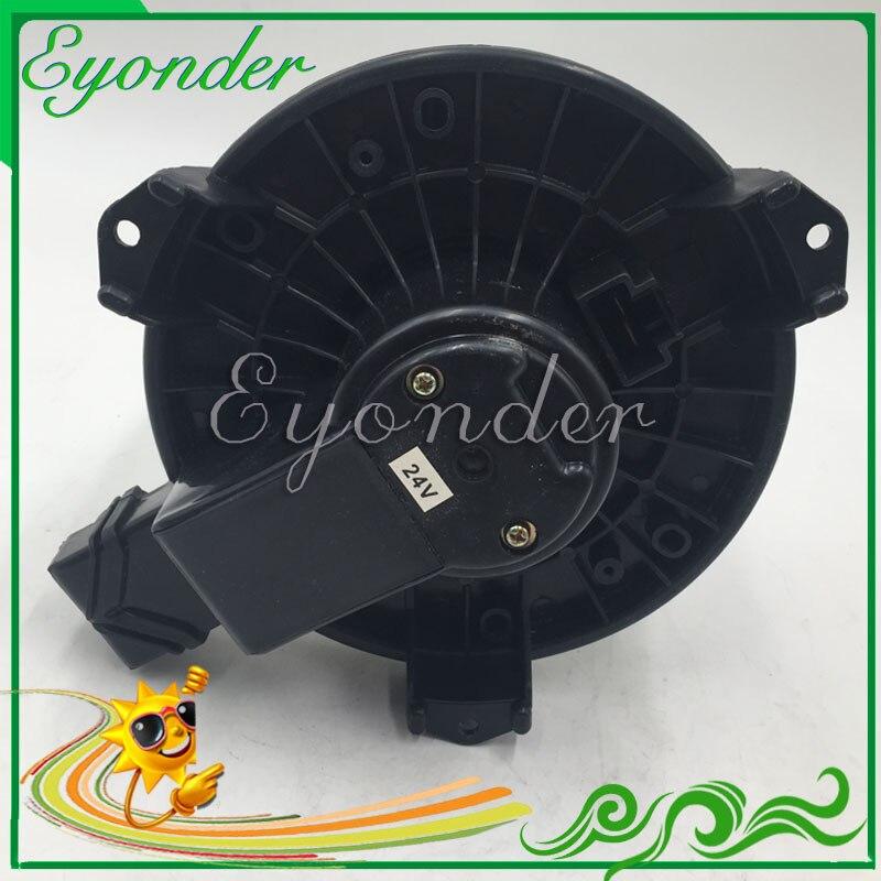 24 v AC A/C Aria condizionata Ventilatore Ventilatore Motore HVAC per Catepillar per il GATTO 320D 330D Komatsu PC800 272700-5020 M676056 272700