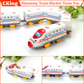 Fast Delivery! 1 Set ABS Electric Train Toy Children Harmony Train Toys Model Toys 47.5 * 4.5 * 3CM Wholesale